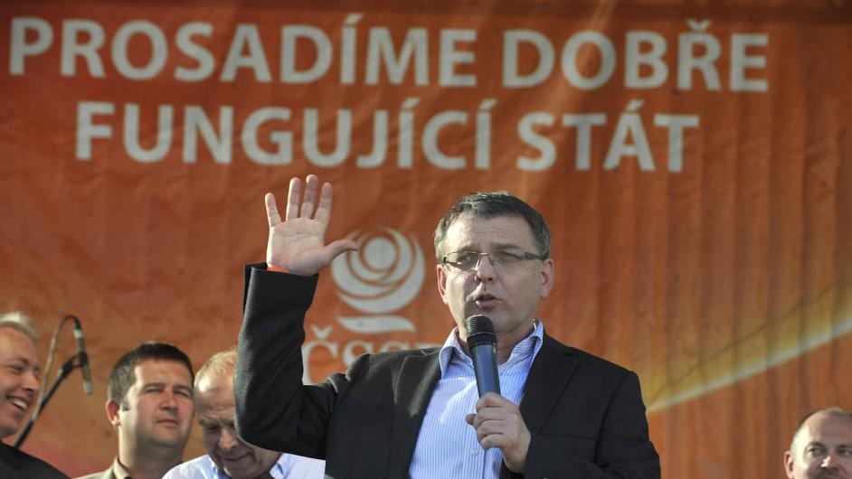 ČSSD v Ostravě zahájila volební kampaň