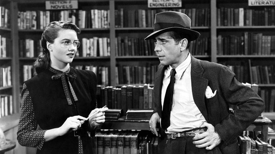 Na stříbrném plátně proslavil Phila Marlowa herec Humphrey Bogart