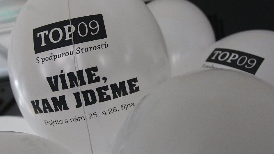 Kampaň TOP 09 (Ilustrační foto)