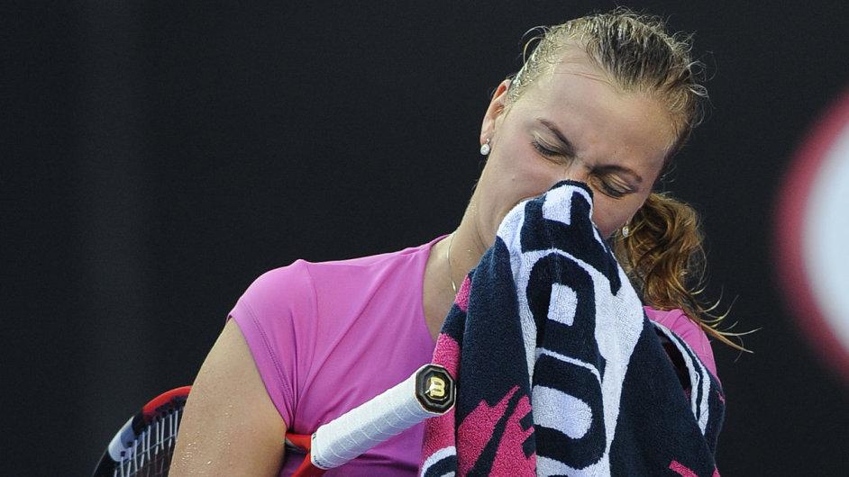Petra Kvitová po prohře na Australian Open