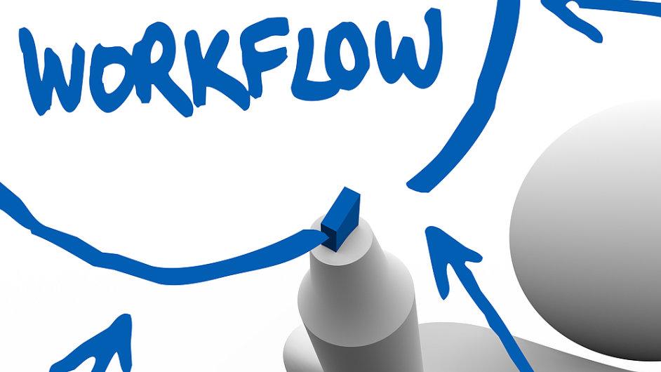 Workflow alias plynulý pracovní proces.
