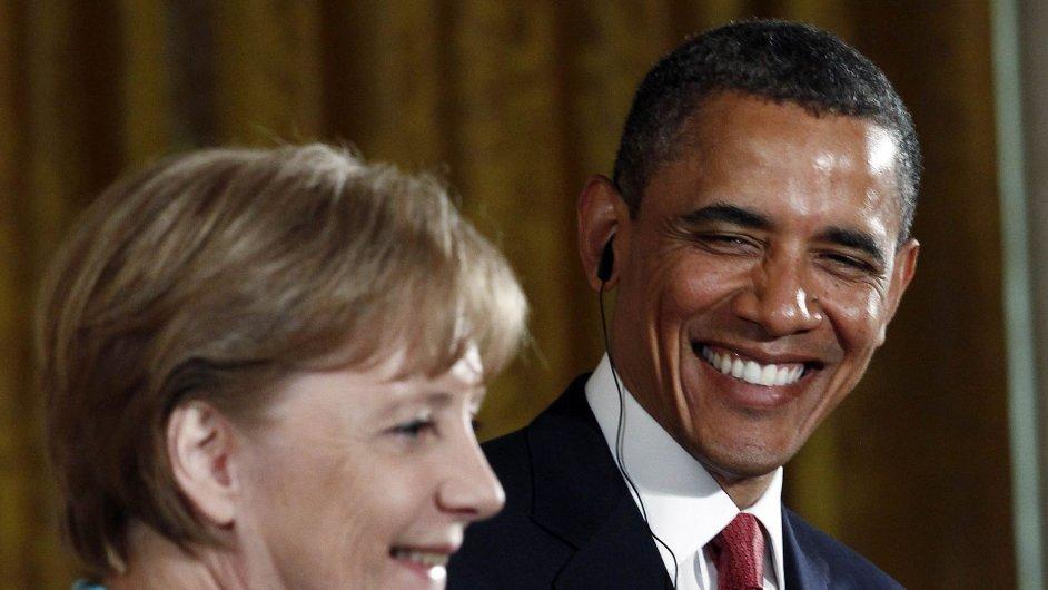 Angela Merkelova, Barack Obama