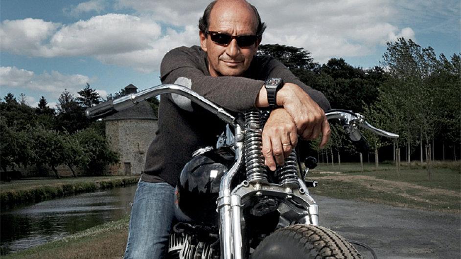 Byznysmen a výrobce technických hodinek Richard Mille
