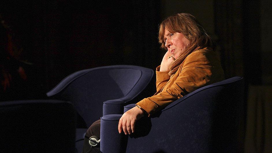 Světlana Aleksijevičová v pátek večer hovořila v Senátu.