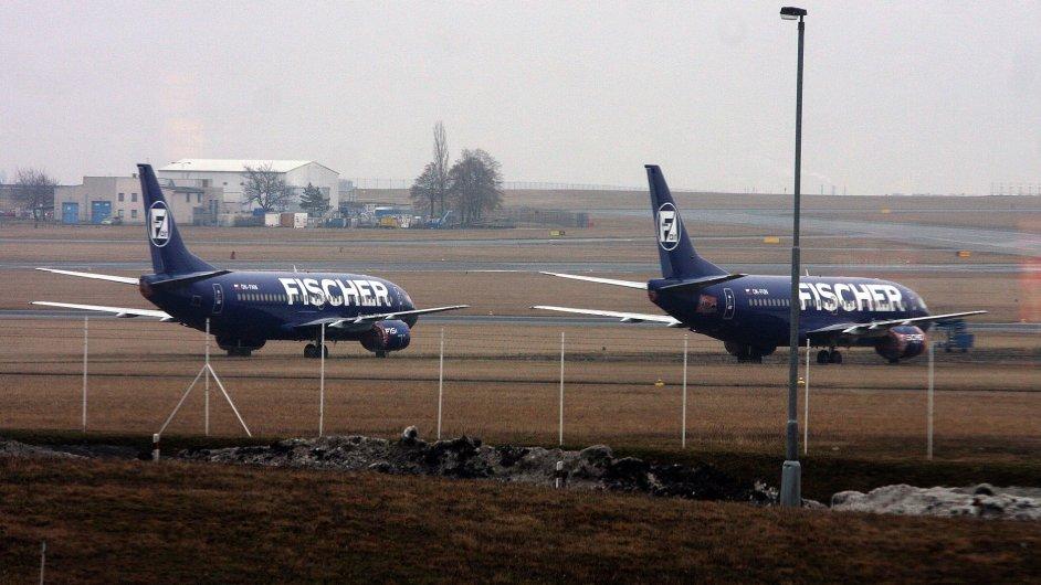 Letouny společnosti Fischer. Ilustrační foto