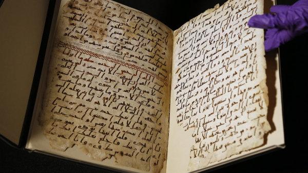 Ilustrace k článku: Student v Birminghamu našel možná nejstarší korán na světě. Vznikl krátce po Mohamedově smrti (IHNED.cz)