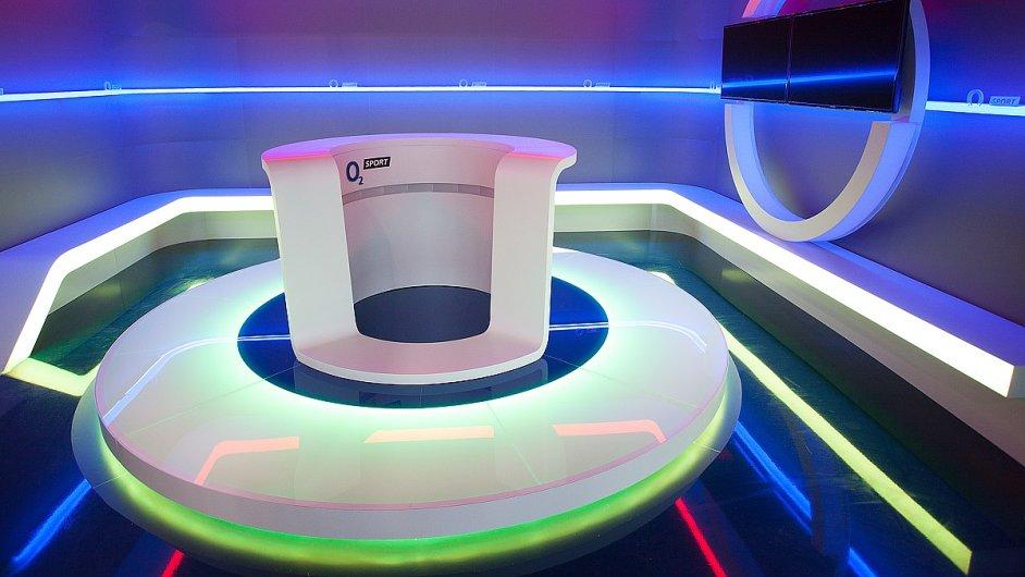 Nové studio O2 Sport