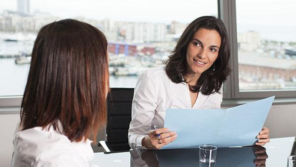 Pracovni pohovor - Ilustrační foto