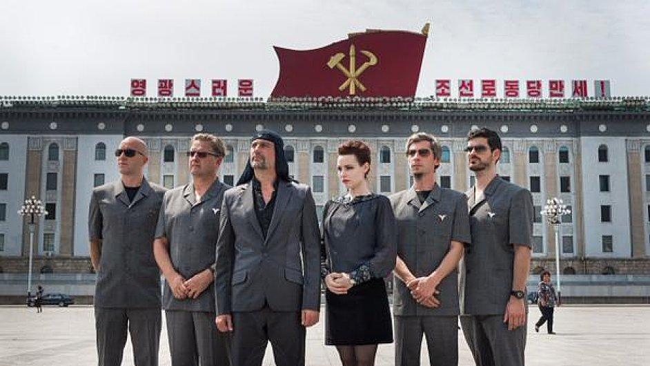 Slovinská kapela Laibach na