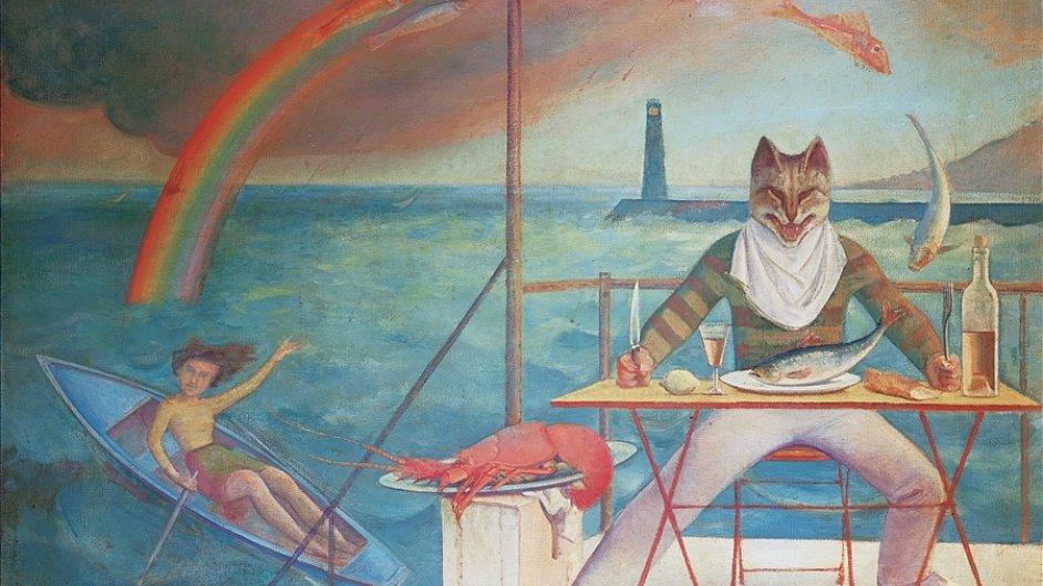 Balthus: Kočka ze Středomoří, 1949