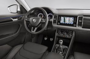 Škoda ukázala interiér Kodiaqu. SUV bude mít sedm sedadel a velký displej