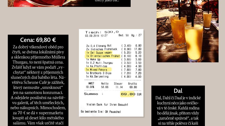 Moje Uctenka Scheune Cafe Tradicni Nemecka Pivnice S Francouzskou