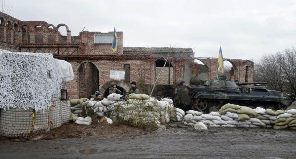 Ukrajinské jednotky.