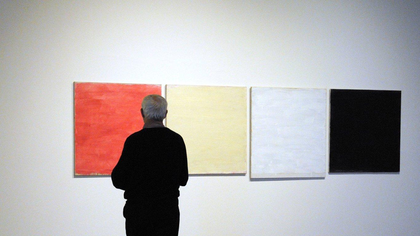 Snímek z výstavy Tomase Rajlicha.