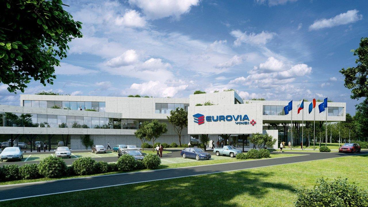 Společnost Eurovia CS plánuje postavit nové sídlo v pražské Krči.