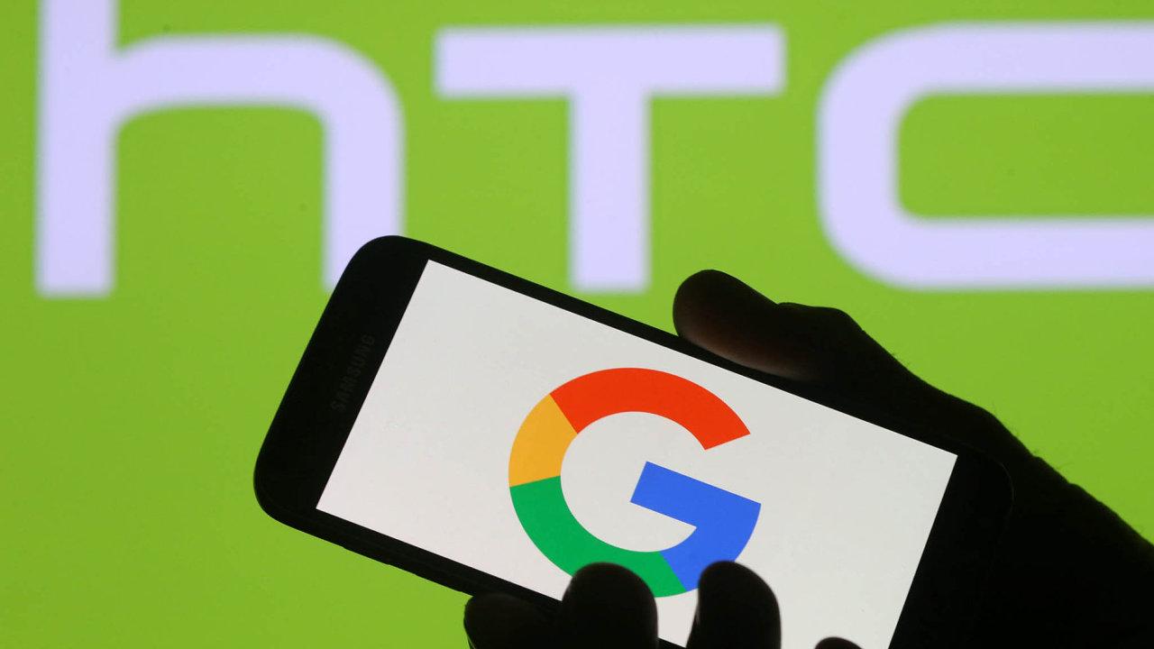 Google za 1,1 miliardy dolarů koupil divizi tchajwanské firmy HTC.