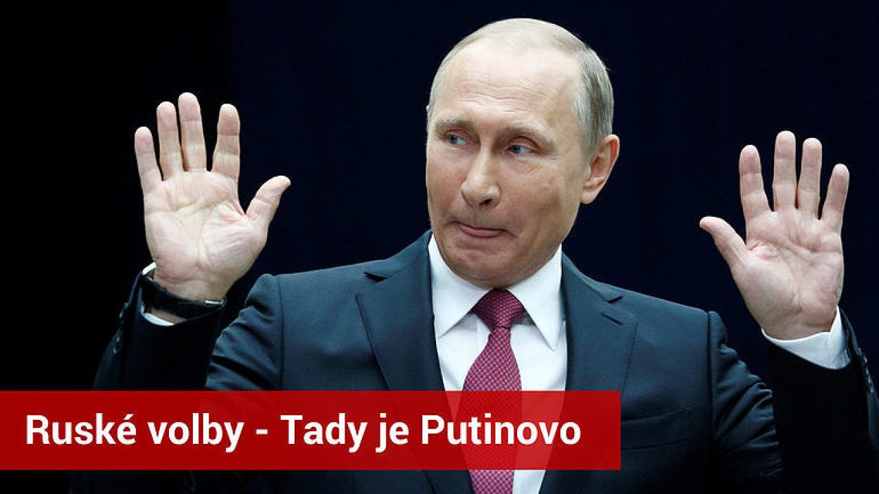 ŽIVĚ: Ruské volby - jaká bude Putinova pozice v příštích šesti letech?