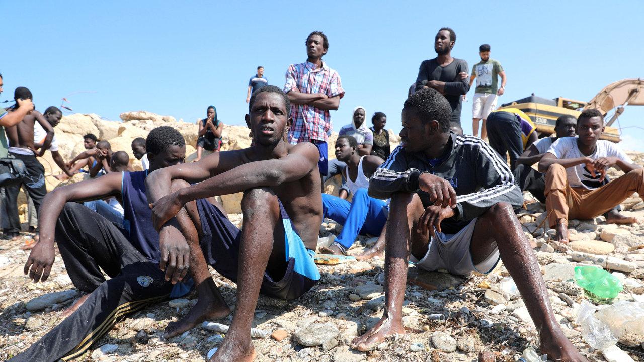 Libye migranti