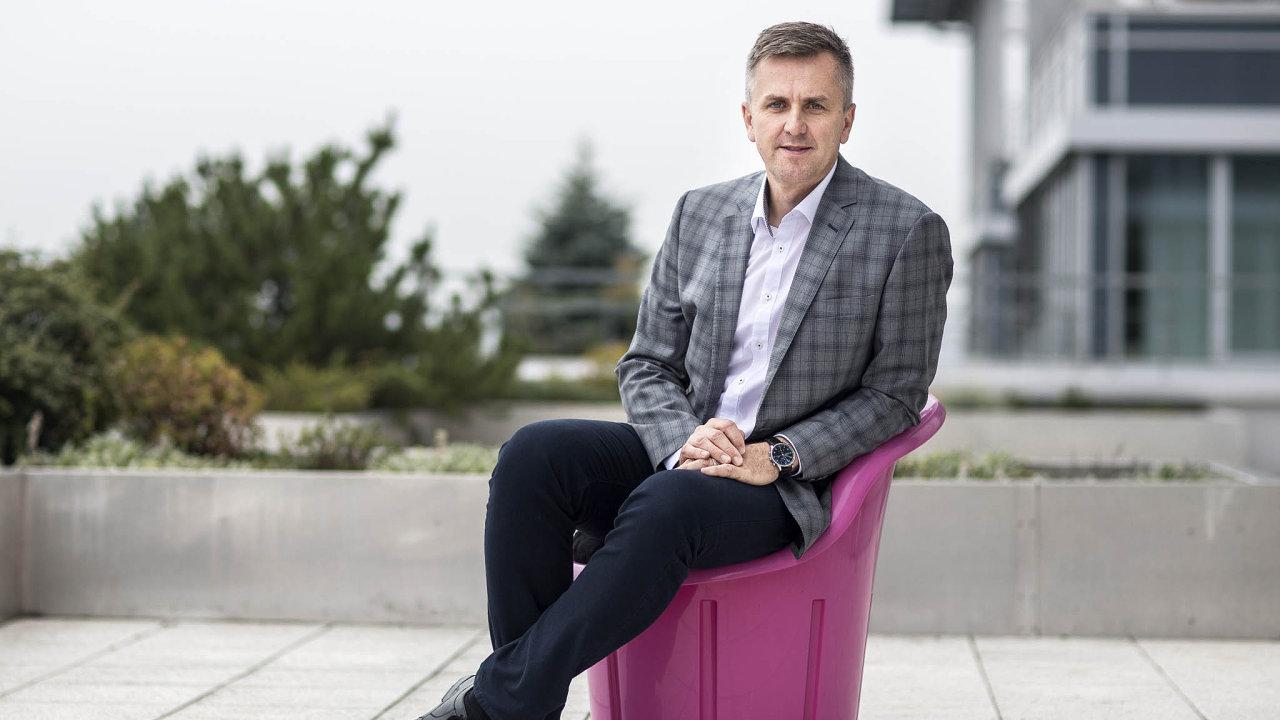 Odcházející šéf českého T-Mobilu Milan Vašina
