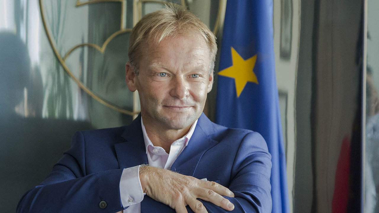 Vazil Hudák, viceprezident Evropské investiční banky