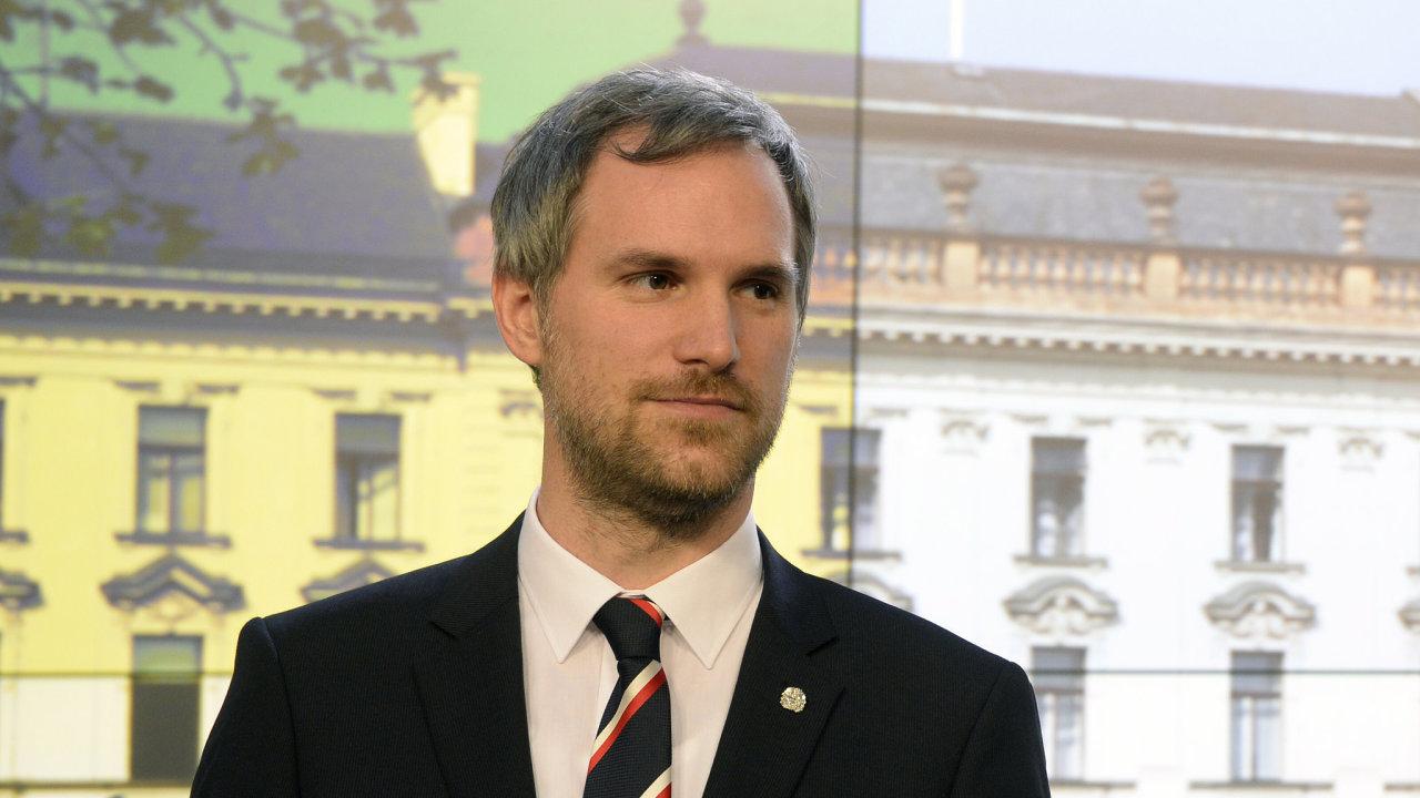 Pražský primátor Zdeněk Hřib.