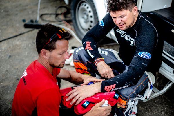 Martin Prokop obsadil v 8. etapě Rallye Dakar 7. místo a sedmý je i nadále v celkovém pořadí.