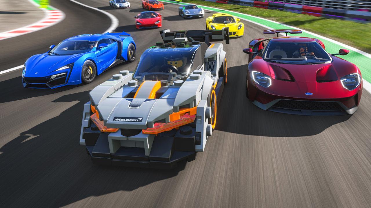 Spojení závodních vozů a Lega ve Forza Horizon 4 Lego Speed Champions