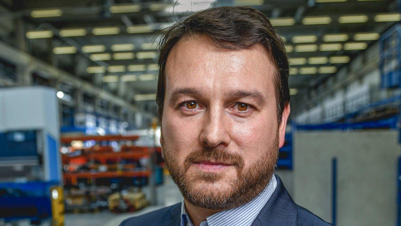 Společnost Doosan Bobcat jmenovala prezidentem pro region Evropy, Blízkého východu aAfriky Gustava Otera (44).