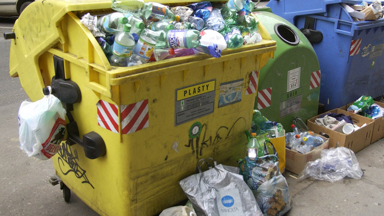 Likvidace plastů je celosvětový problém, česká firma ví, jak na to.