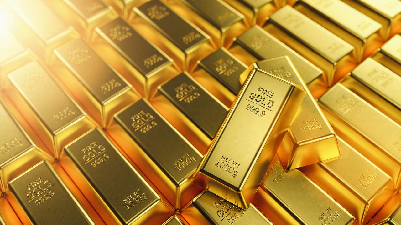 Slabší dolar obvykle dělá zlato atraktivnější pro kupce, pro které není dolar hlavní měnou.