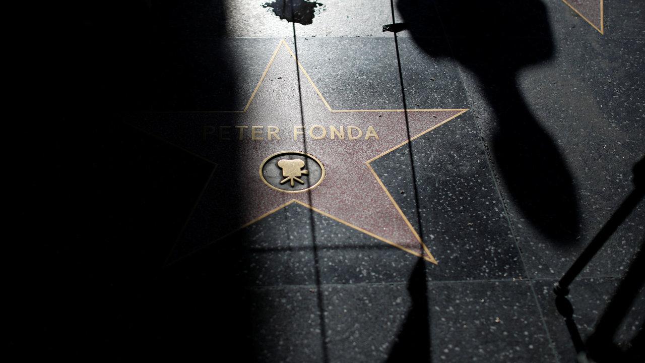 Fondova hvězda na hollywoodském chodníku slávy.