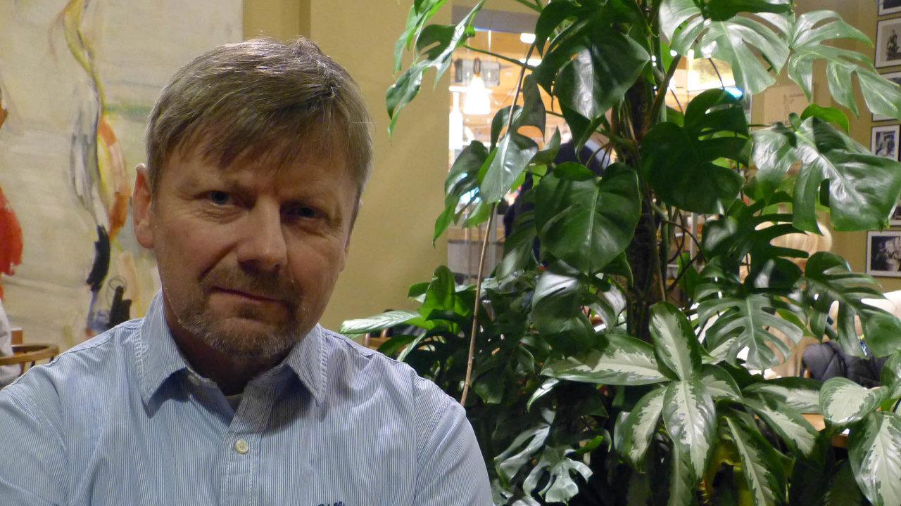 Petr Hendrych,jednatel společnosti MHA