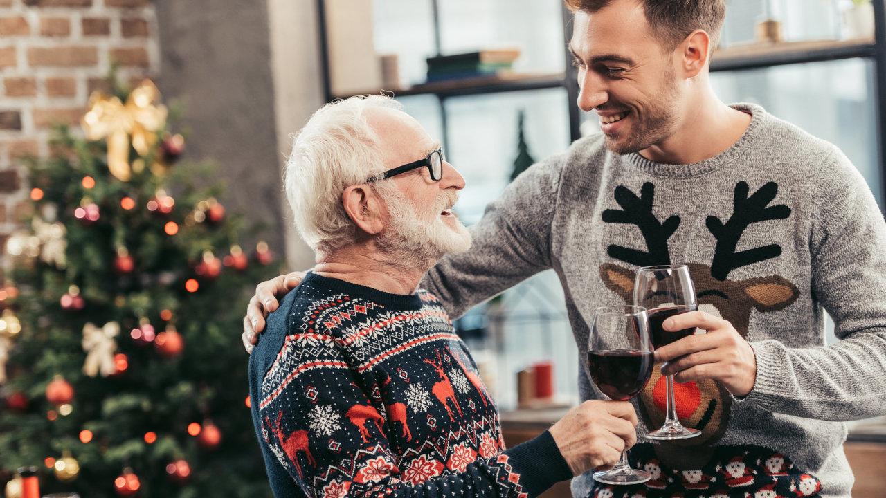 Vánoce, stromeček, dárky
