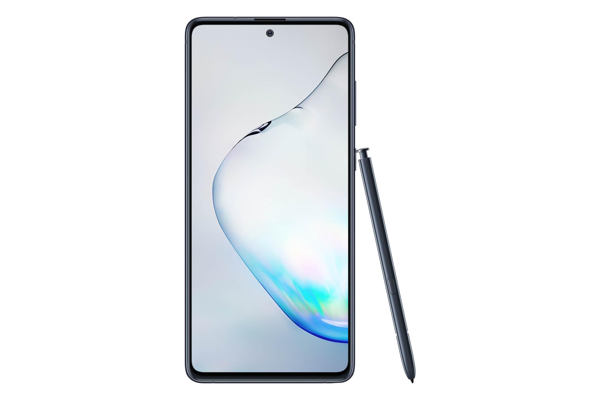 Součástí výbavy Galaxy Note 10 Lite s Full HD AMOLED obrazovkou, 128 GB prostorem pro data anovým Androidem 10 je také unikátní pero.