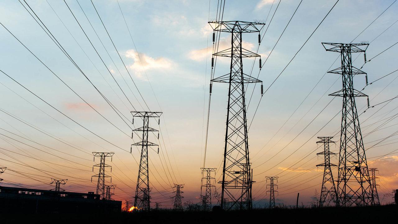 Desetina elektřiny spotřebované v Česku se zobchoduje přes kladenskou komoditní burzu (ilustrační snímek).