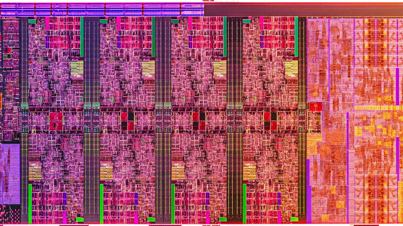 Nové mobilní procesory Intel překonaly hranici 5 GHz