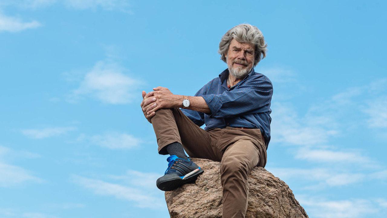 Reinhold Messner je jednou z nejvýznamnějších osobností horolezecké historie.