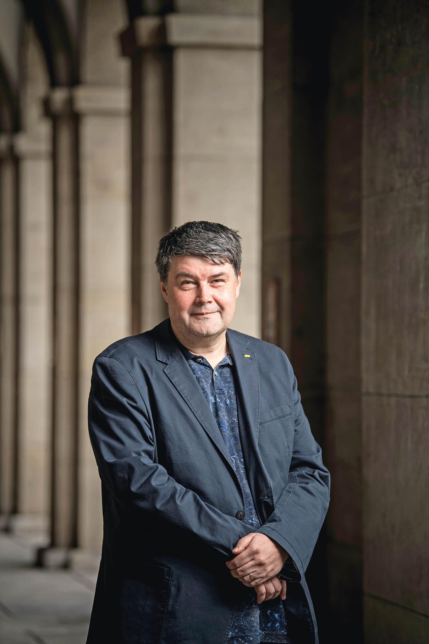 Děkan Právnické fakulty Univerzity Karlovy Jan Kuklík