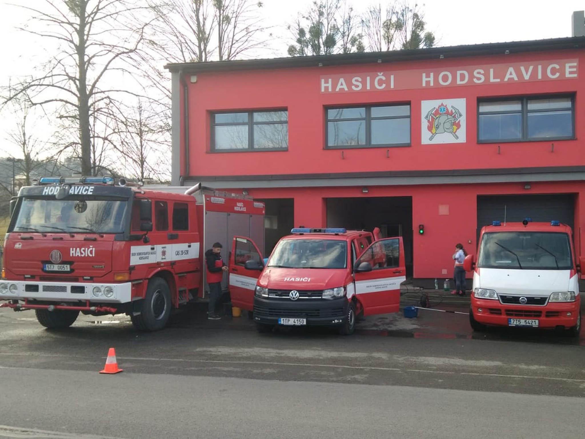 Hasiči vobci Hodslavicevyužili peníze zEU nazateplení zbrojnice inákup vozu.