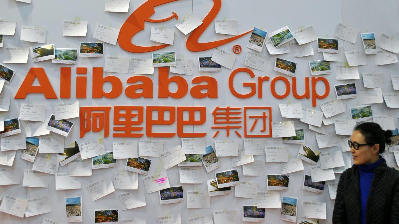 Čínský internetový prodejce Alibaba se poohlíží po nových oblastech (ilustrační foto).