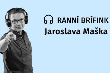 Ranní brífink Jaroslava Maška: Testuj, kdo můžeš, říká Pavel Řehák, který loni s excelem zachraňoval Česko