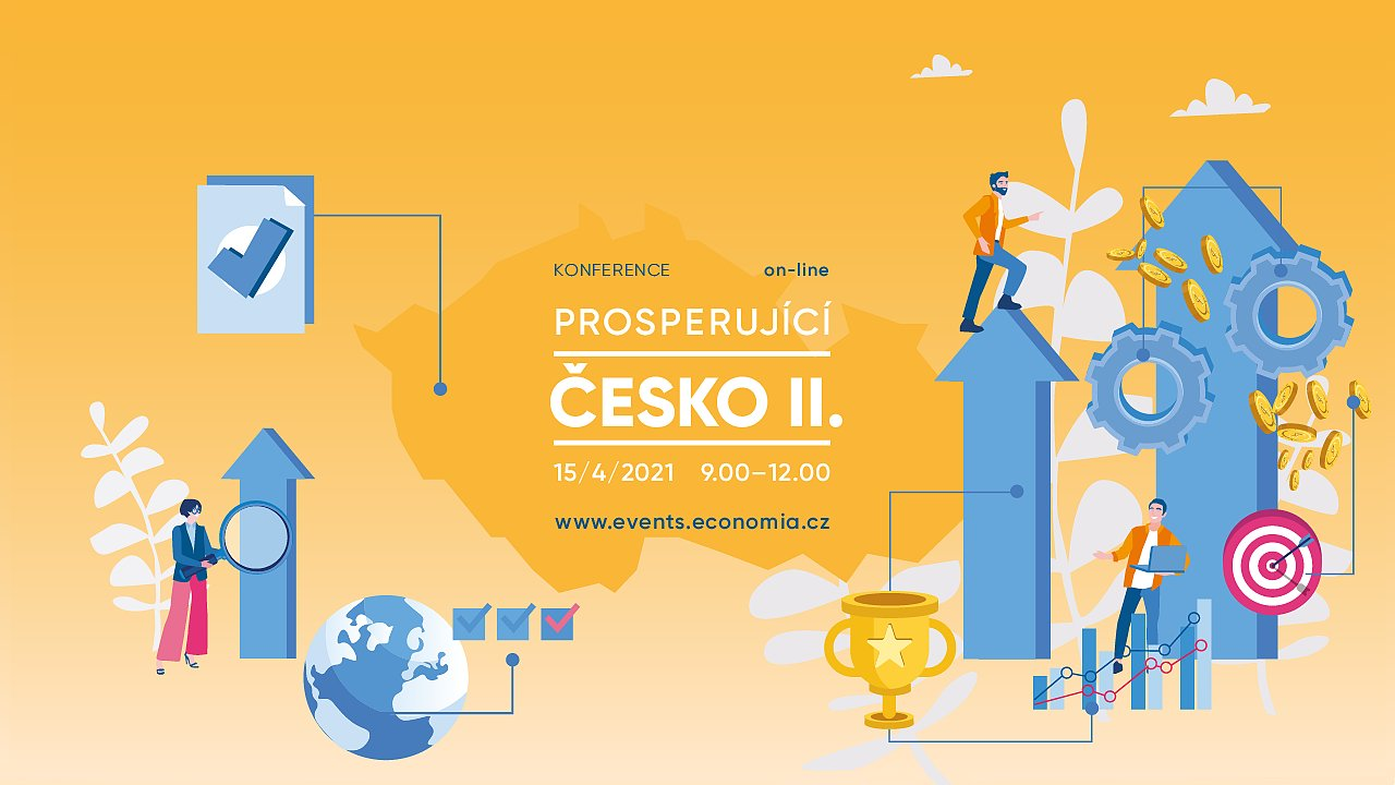 Konference Prosperující Česko se uskuteční 15. dubna v on-line podobě