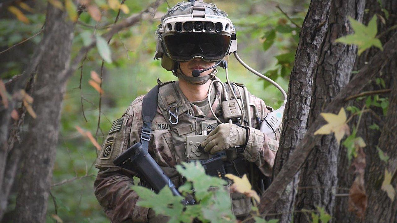 Hololens mají obrněnou vojenskou podobu s označením IVAS