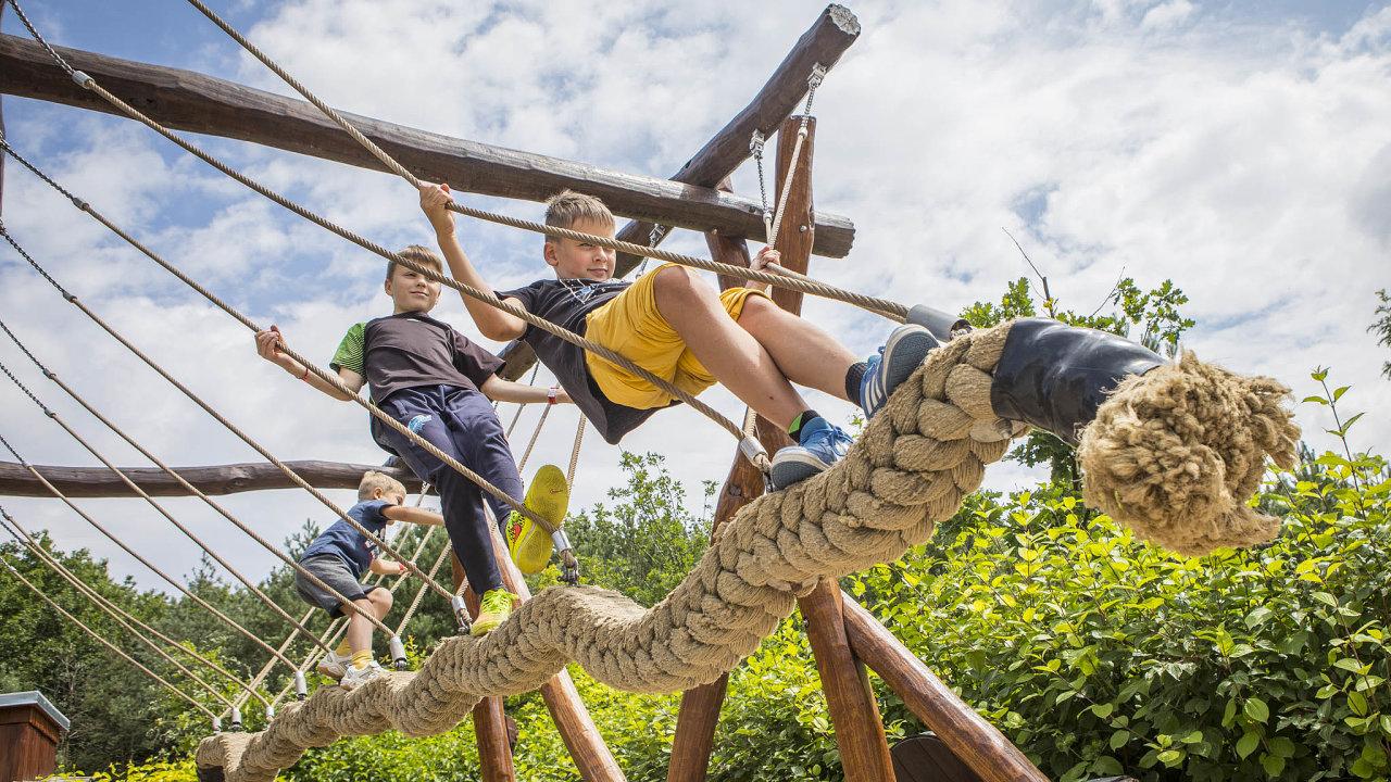Zábavně-naučný park Mirakulum vMilovicích naNymbursku