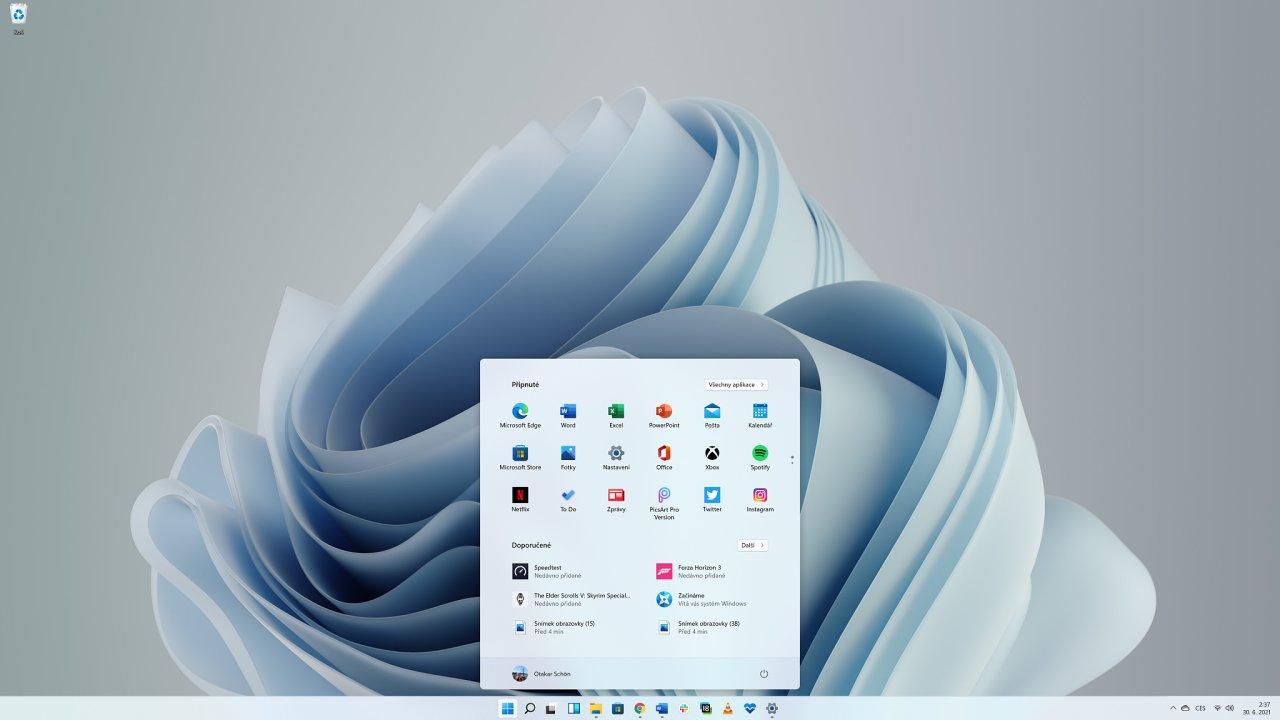 Windows 11 ve verzi pro Windows Insidery