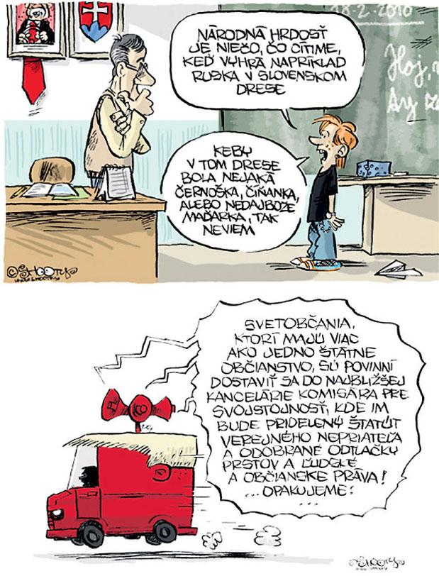 Slovensko-karikatury