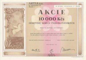 ARTIA, a. s., 10 000 K�s