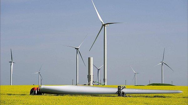 ČEZ bude rozvíjet obnovitelné zdroje v Německu – ilustrační foto.
