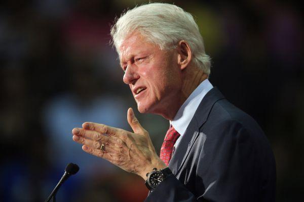 Bill Clinton. Snímka: Reuters