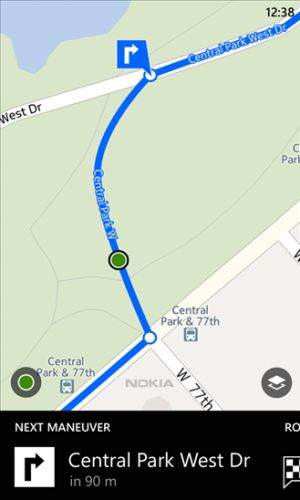 Nokia mapa